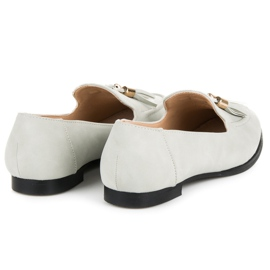 Vices Loafers with tassels grey 6