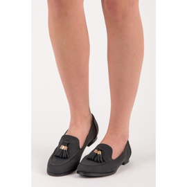 Vices Loafers with tassels black 1