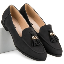 Vices Loafers with tassels black 2