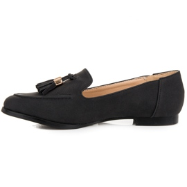Vices Loafers with tassels black 4