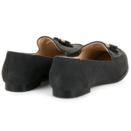 Vices Loafers with tassels black 5