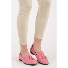 Vices Loafers With Fringes pink 3