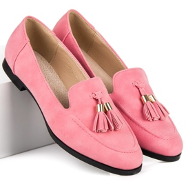Vices Loafers With Fringes pink 4