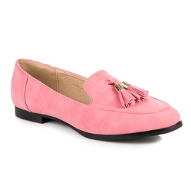 Vices Loafers With Fringes pink 5