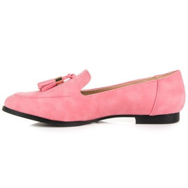 Vices Loafers With Fringes pink 6