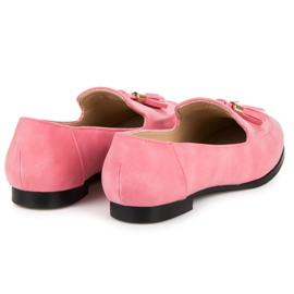Vices Loafers With Fringes pink 7