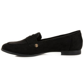 Seastar Suede moccasin shoes black 3