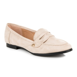 Seastar Suede loafers shoes brown 2