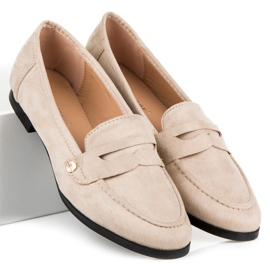 Seastar Suede loafers shoes brown 1