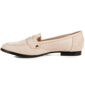 Seastar Suede loafers shoes brown 3