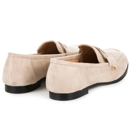 Seastar Suede loafers shoes brown 4