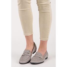Seastar Suede moccasin shoes grey 1