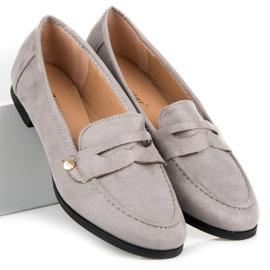 Seastar Suede moccasin shoes grey 5