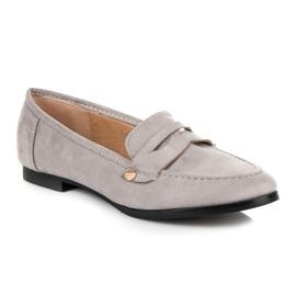 Seastar Suede moccasin shoes grey 2
