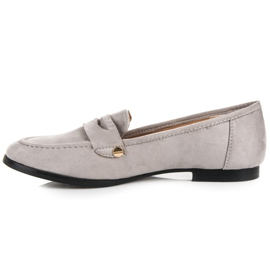 Seastar Suede moccasin shoes grey 3