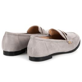 Seastar Suede moccasin shoes grey 4