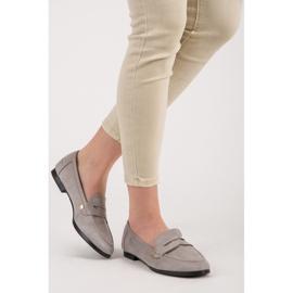 Seastar Suede moccasin shoes grey 6