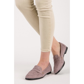 Seastar Suede loafers shoes violet 6