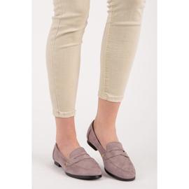 Seastar Suede loafers shoes violet 1