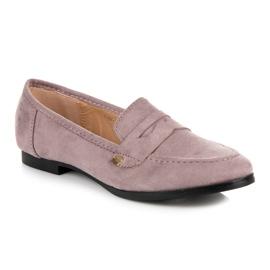 Seastar Suede loafers shoes violet 3