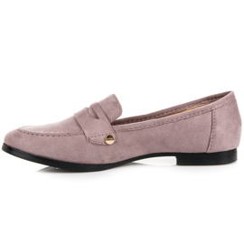 Seastar Suede loafers shoes violet 4