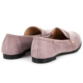 Seastar Suede loafers shoes violet 5