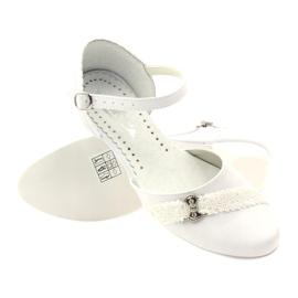 Courtesy ballerinas Communion Miko 714 white 3