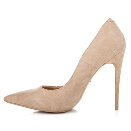Vices Pumps on a stiletto brown 3
