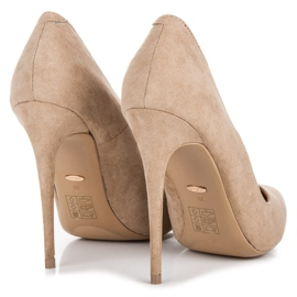 Vices Pumps on a stiletto brown 5