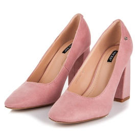 Vices Pink pumps on the post 4
