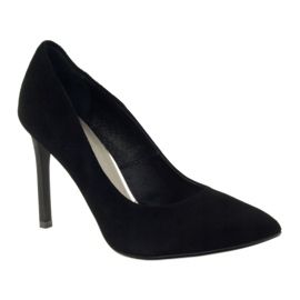 Edeo Pumps On High heel 3162 black 1