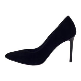 Edeo Pumps On High heel 3162 black 2