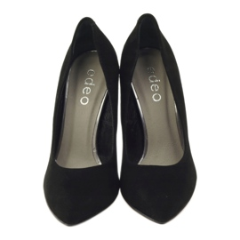 Edeo Pumps On High heel 3162 black 4