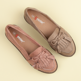 Seastar Loafers with tassels brown 1