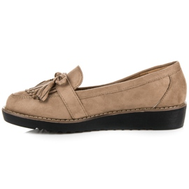 Seastar Loafers with tassels brown 4