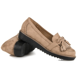 Seastar Loafers with tassels brown 5