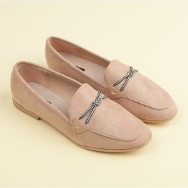 Suede loafers vices brown 3