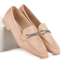 Suede loafers vices brown 6