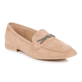 Suede loafers vices brown 7