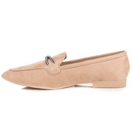 Suede loafers vices brown 8