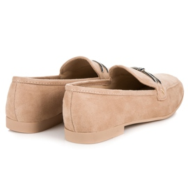 Suede loafers vices brown 9
