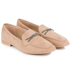 Suede loafers vices brown 1