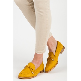 Vices Spring moccasins yellow 1
