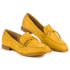 Vices Spring moccasins yellow 2