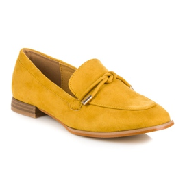 Vices Spring moccasins yellow 3