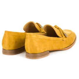 Vices Spring moccasins yellow 5