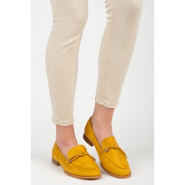 Vices Spring moccasins yellow 6