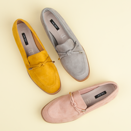 Vices Spring moccasins yellow 7