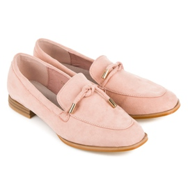 Vices Spring Moccasins pink 6