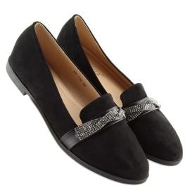 Loafers black H8-110 Black 4